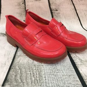 Gap pink loafers